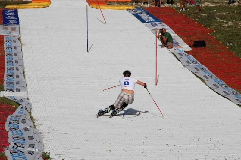 sciare senza neve