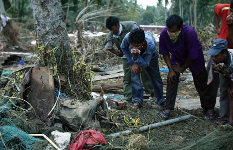 Tsunami 2004 Maldive