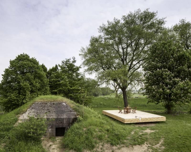 Dormire in un bunker della 2° guerra mondiale? Adesso si può! (FOTO)