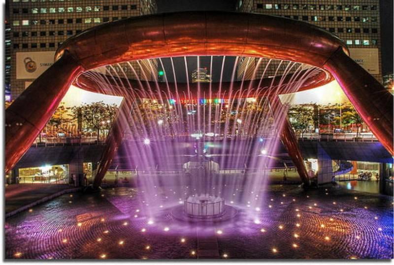 Fountain of Wealth, Suntec City, Singapore
