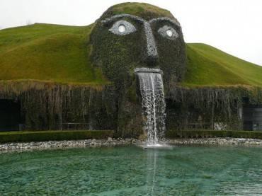 Swarovski Fountain, Innsbruck,