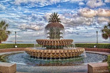 Pineapple Fountain, Waterfront Park, Charleston