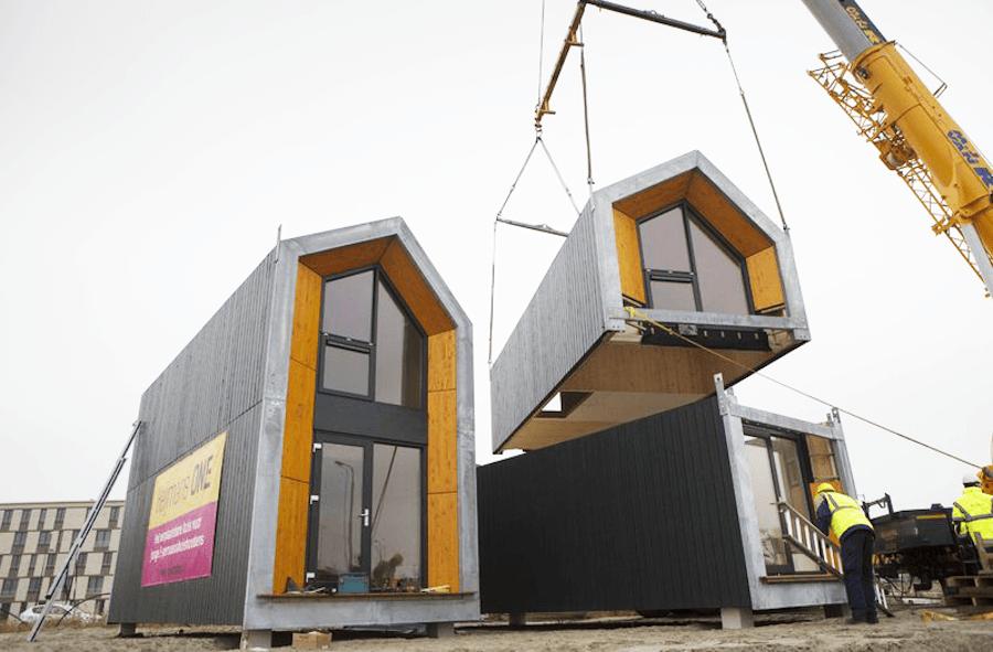 Heijmans one la casa mobile per single e giovani coppie for Casa per single