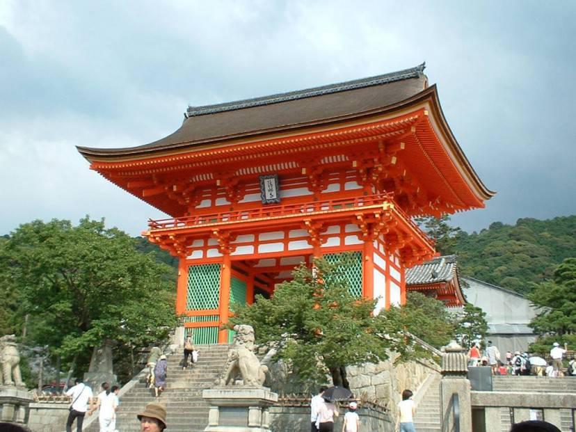Kyoto, Tempio di Kiyomizudera VIII sec d.C.