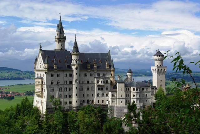 Germania, Castello di Neuschwanstein, 1886