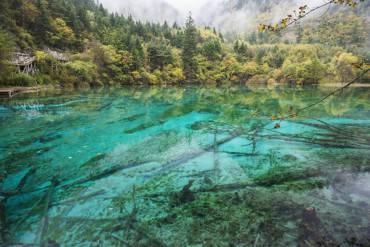 Jiuzhaigou Valley Scenic