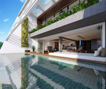stanza con piscina 5