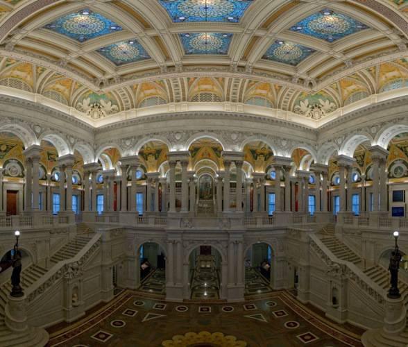 Biblioteca del Congresso a Washington
