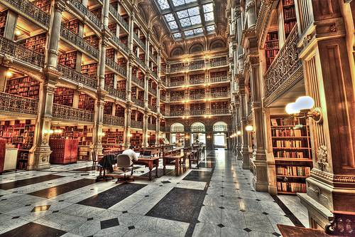 La George Peabody Library