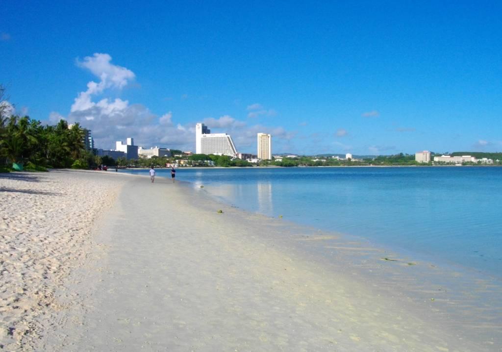 Tumon Beach, Guam @Wikipedia