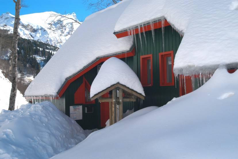 La neve e gli chalet colorati: bellissimi!
