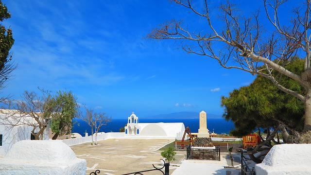 Santorini @Pixabay