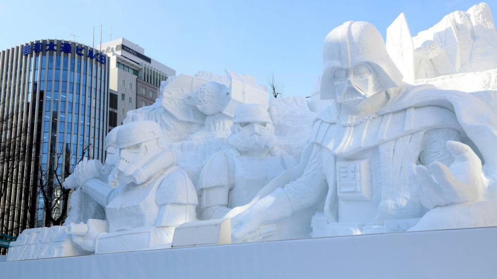 scultura star wars