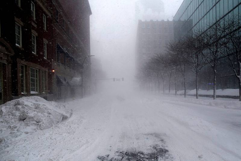 Tempesta di neve Boston