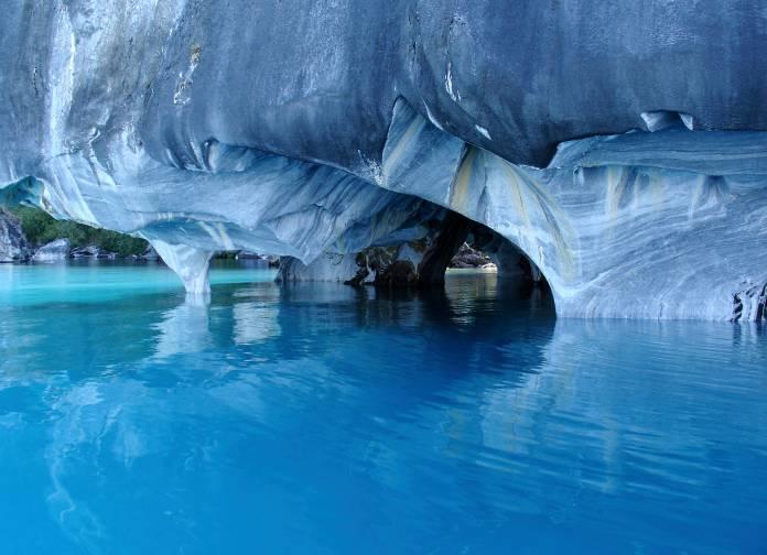 Patagonia ecco le meravigliose cattedrali di marmo for Foto meravigliose del mondo