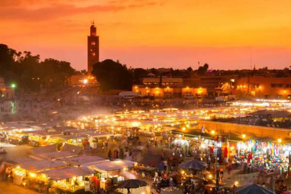 Marrakech, Djemaa el-Fna