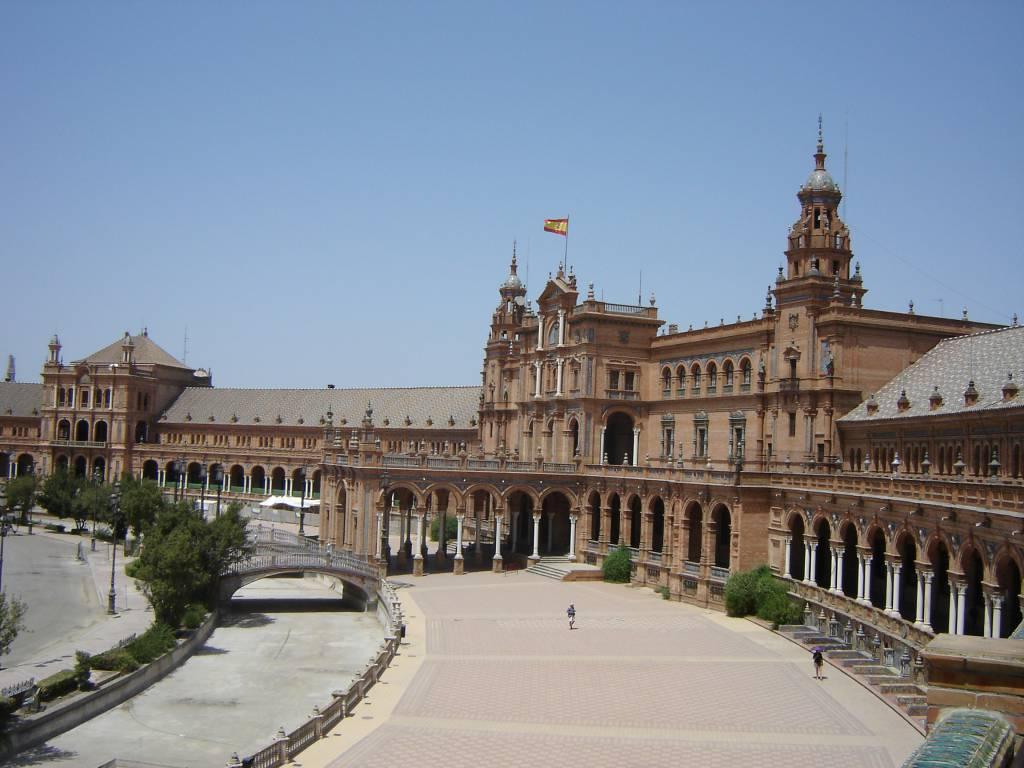 Plaza de Espana, Sevilla @Wikipedia
