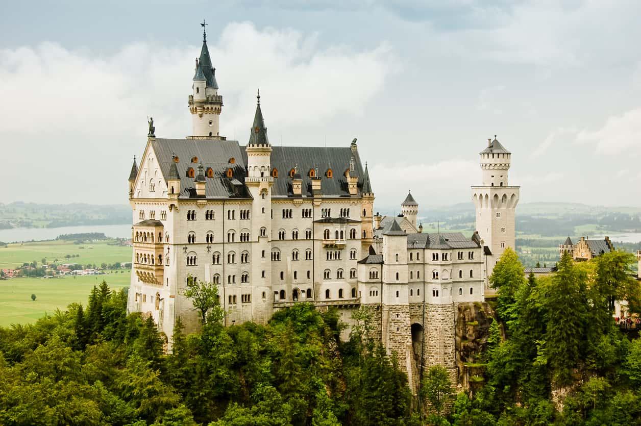 guida al castello di Neuschwanstein
