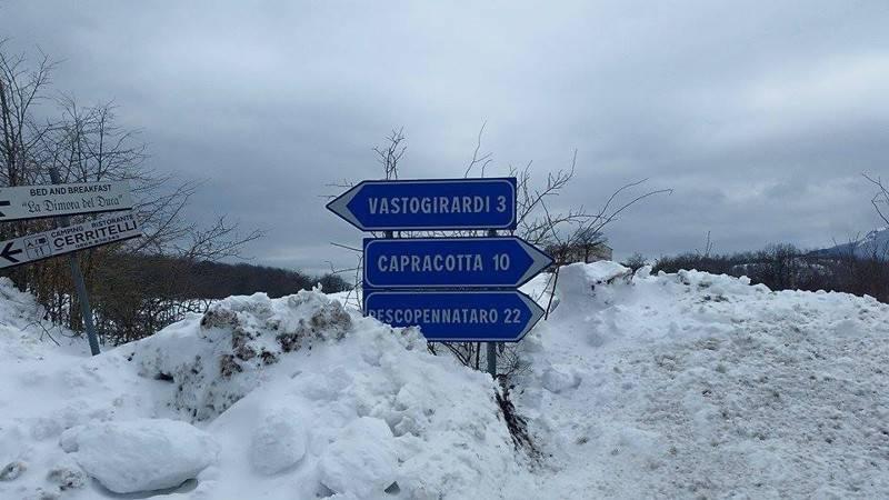 nevicata capracotta
