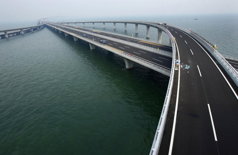 Weinan Weihe Grand Bridge