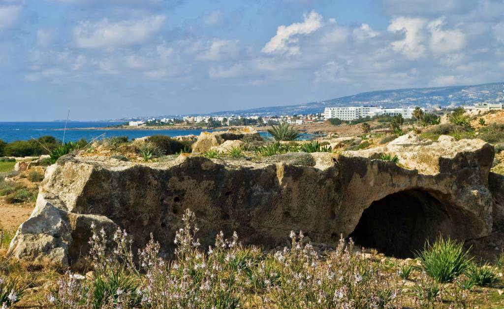 Paphos, vista dalle Tombe dei Re @Wikipedia