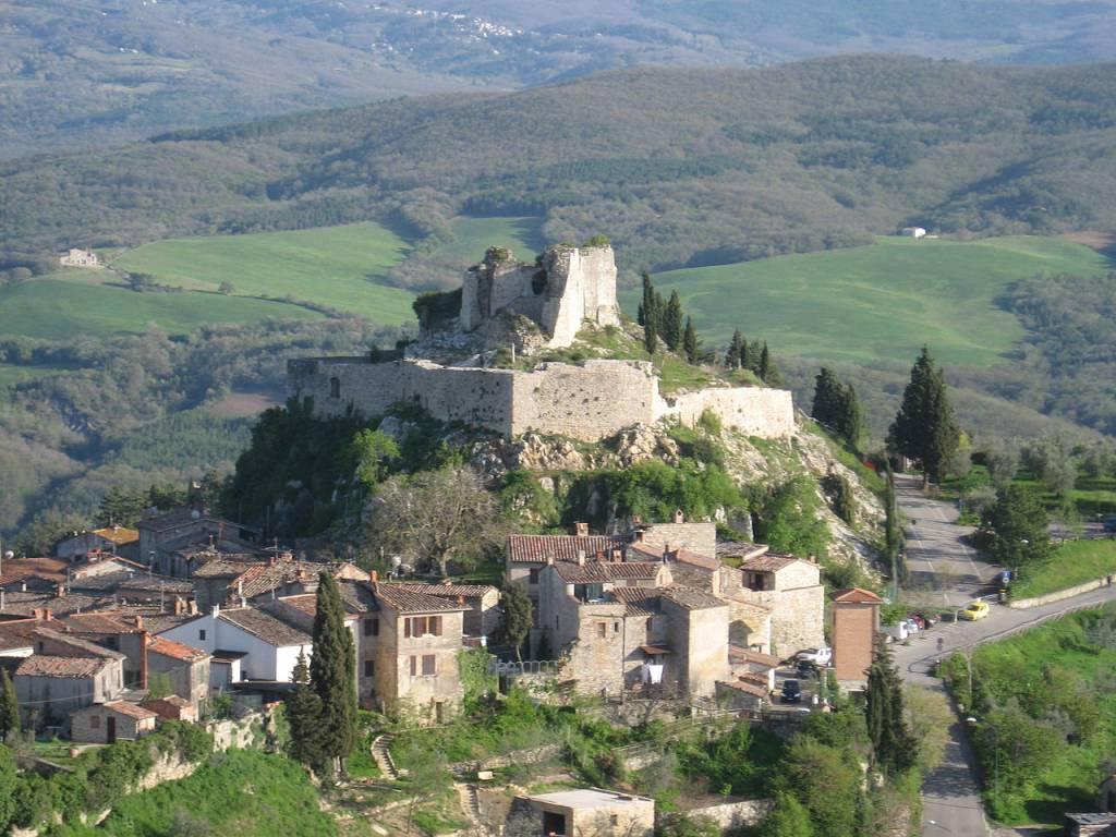 Rocca Aldobrandesca, Castiglione D'Orcia @Wikipedia