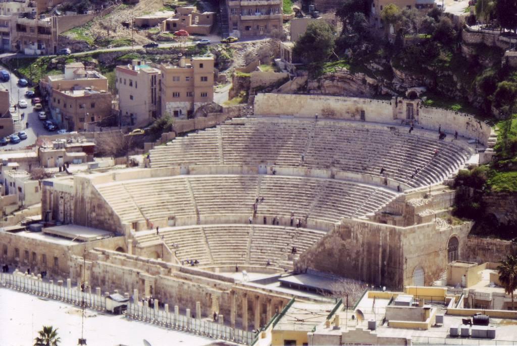 Teatro romano, Amman @Wikipedia