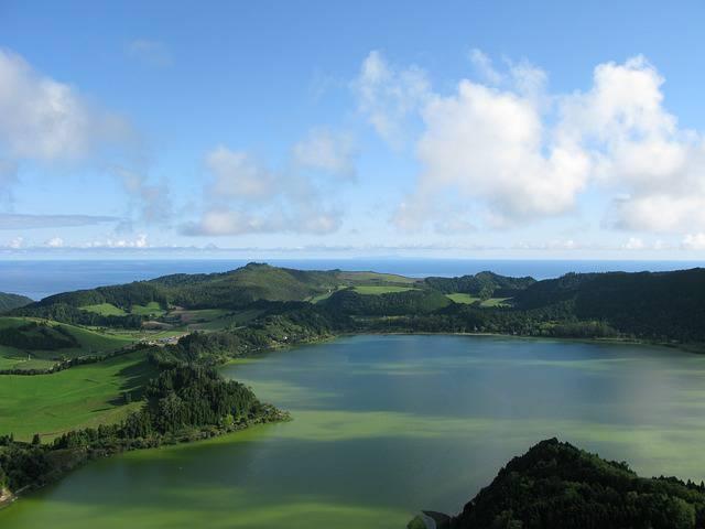 Lago Verde, Azzorre @Pixabay