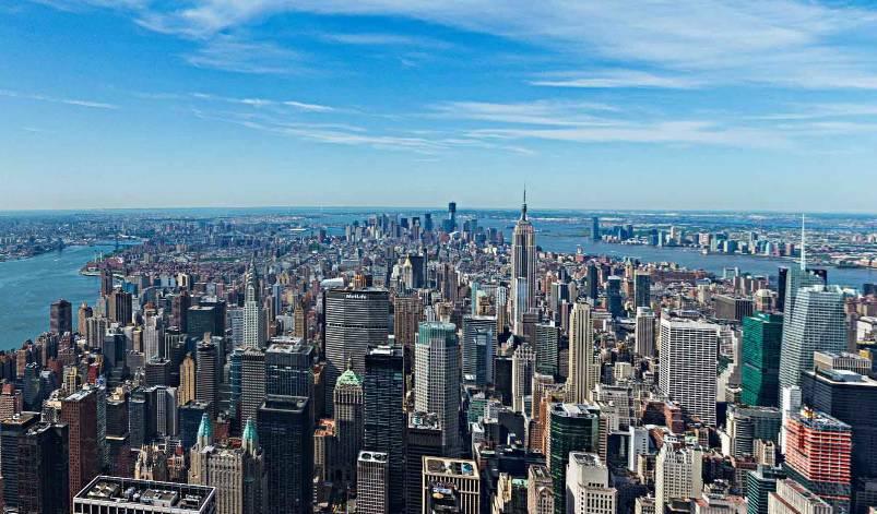 Il grattacielo pi alto del mondo supera i 400 metri d 39 altezza for Finestra new york