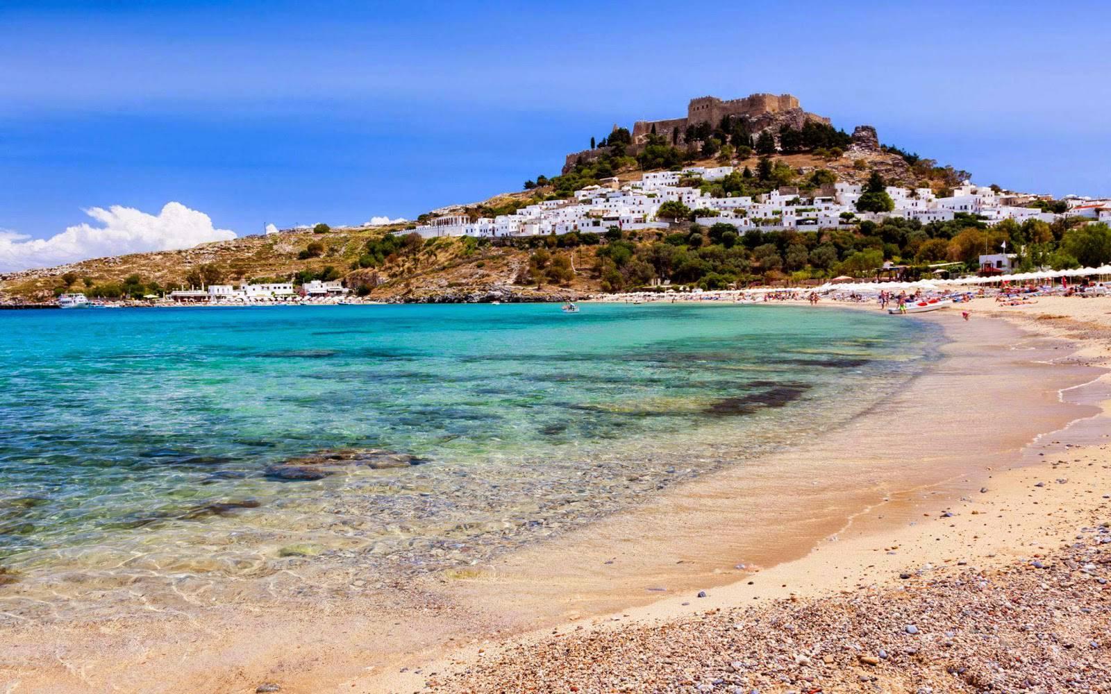 Rodi, Spiaggia di Lindos
