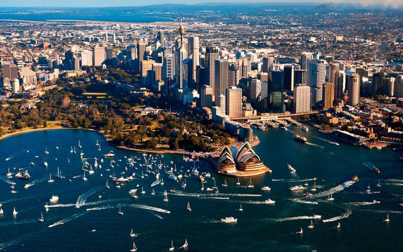 Sydney, Australia (@Wikipedia)