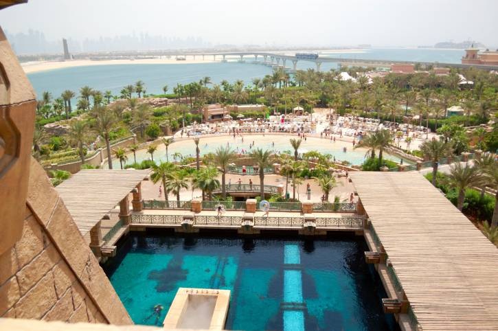 Waterpark of Atlantis the Palm hotel, Dubai, UAE