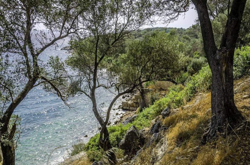 Sedir island, Mugla, Turkey
