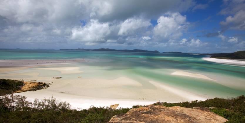 Spiagge da sogno: Whitehaven Beach, la più popolare di tutta l'Australia