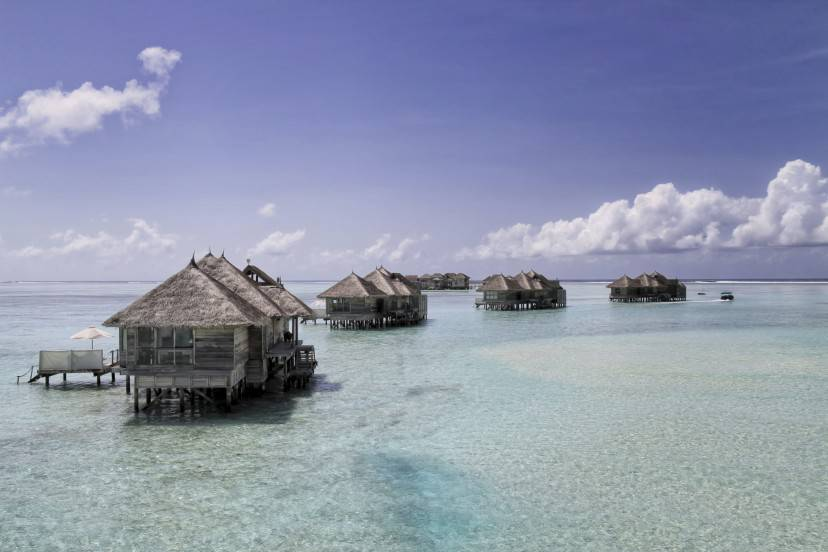 Bungalow del Lankanfushi Hotel alle Maldive (Thinkstock)
