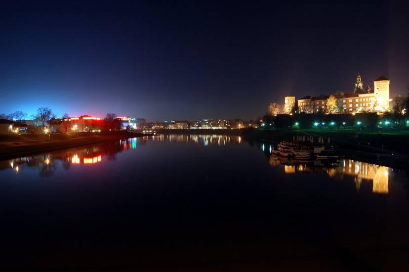 Cracovia, il Castello di Wawel e la Vistola (Pixabay)