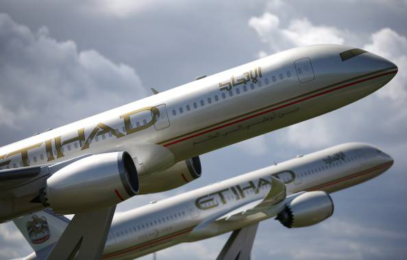Etihad Airways (Peter Macdiarmid/Getty Images)