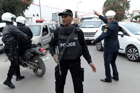 Polizia tunisina (FADEL SENNA/AFP/Getty Images)