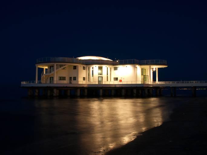 Senigallia, la Rotonda a Mare di notte (Thinkstock)