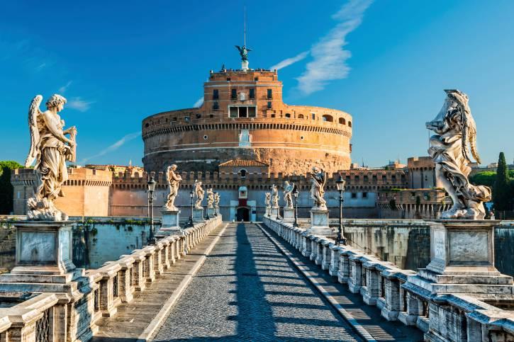 Castel Sant'Angelo e il Ponte, Roma (Thinkstock)