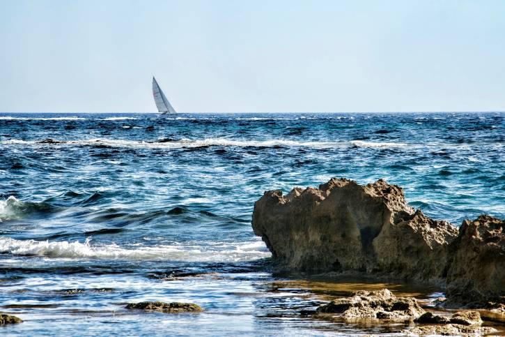 Sailing at Acciaroli