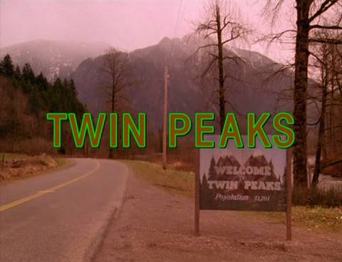 Immagine dalla sigla di Twin Peaks (Wikipedia)