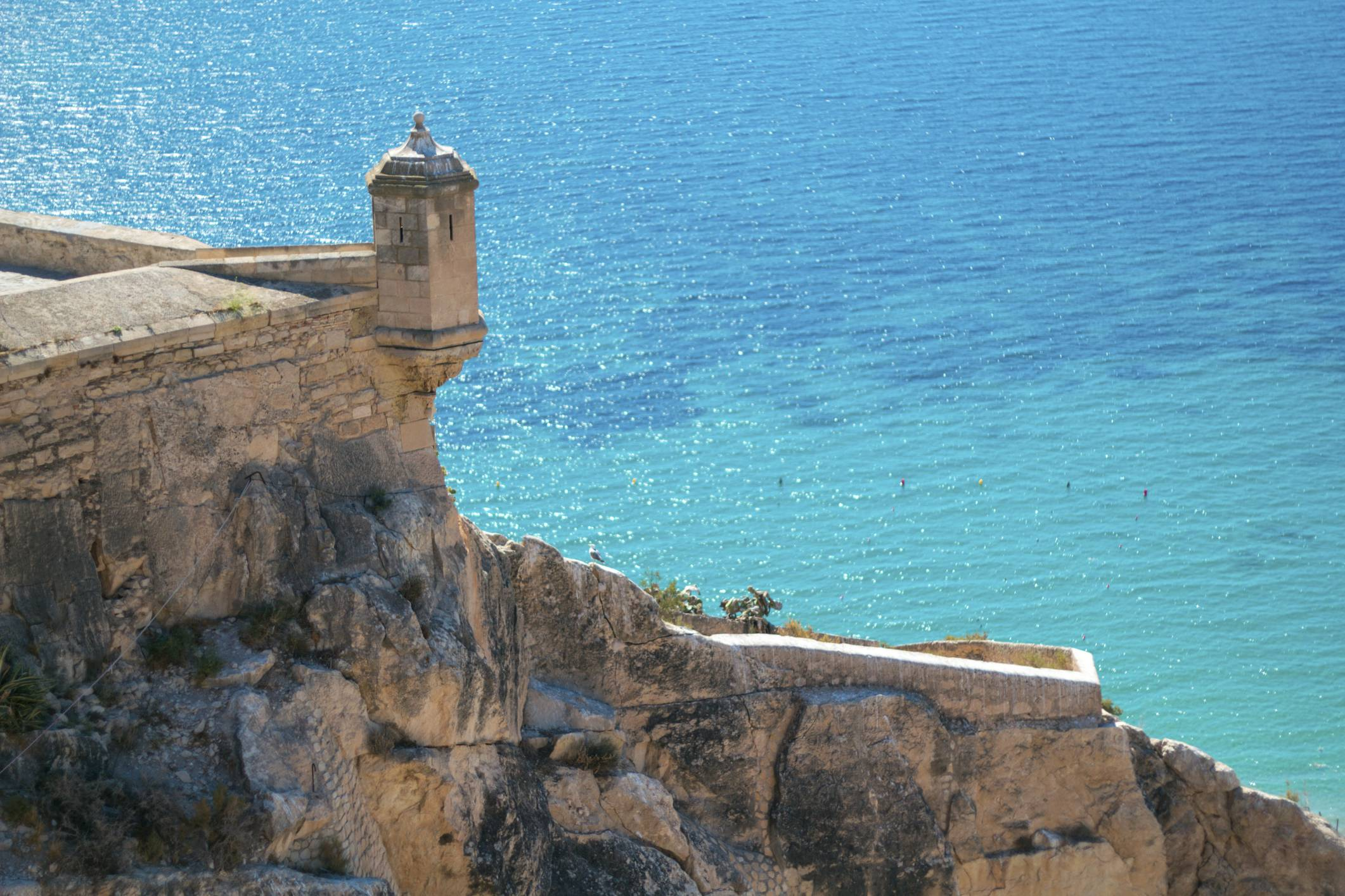 Alicante, mare e castello (Thinkstock)