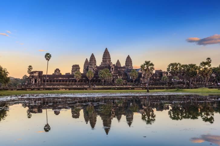 Il tempio di Angkor Wat a Siem Reap, Cambogia (Thinkstock)