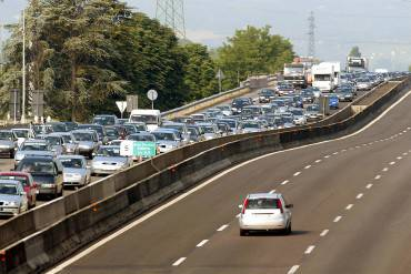 Traffico in autostrada (GEORGIO BENVENUTI/AFP/Getty Images)