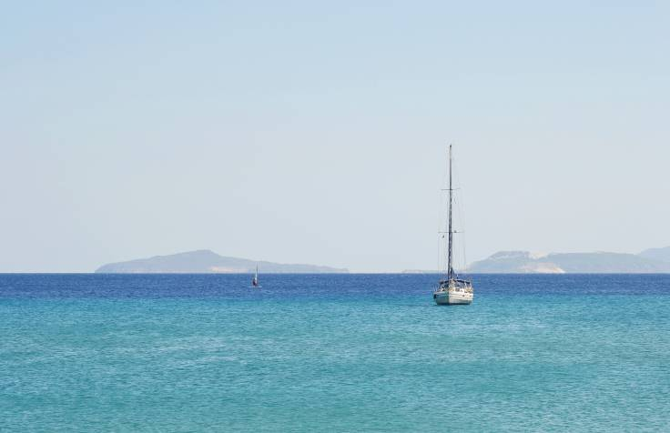 Barca a vela al largo di Kos (Thinkstock)