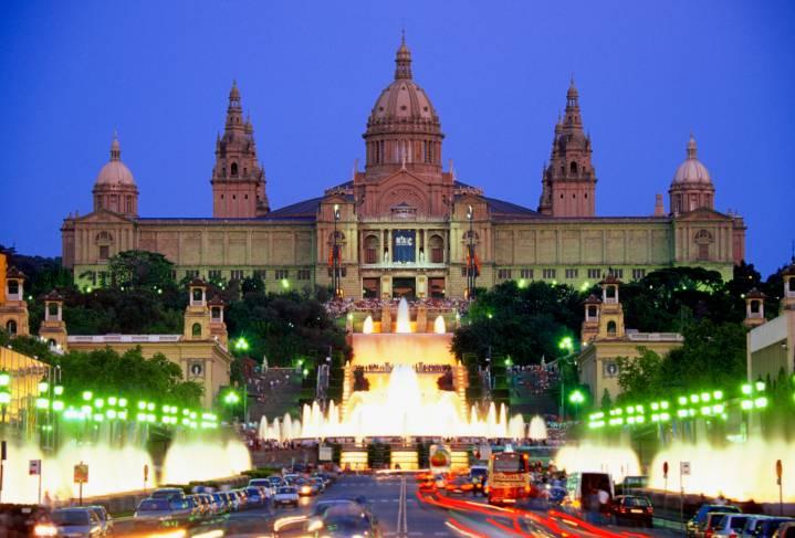 Barcellona, Palazzo del Montjuic (Thinkstock)