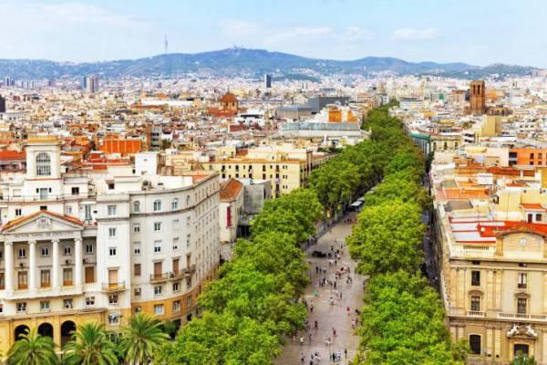 Barcellona, la Rambla (Thinkstock)