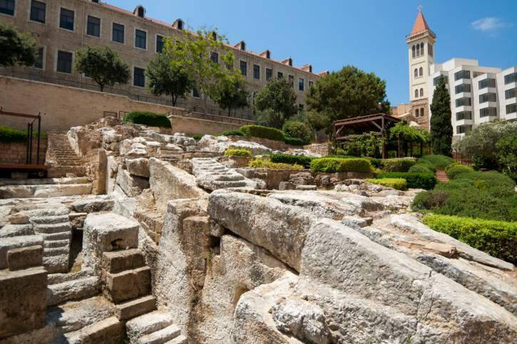 Terme romane a Beirut (Thinkstock)
