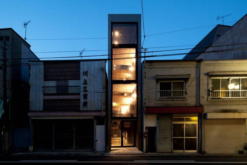 Casa Bonsai a Tokyo (Foto http://yuua.jp/index.html)